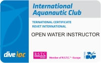 i.a.c. Open Water Instructor / CMAS 1 Instructor